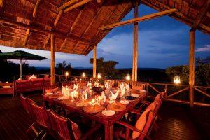 Jamila Lodge Dinner on the Main Deck