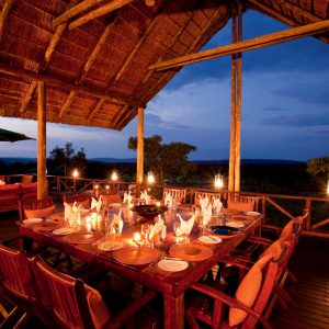 Jamila Lodge Dinner on the Main Deck