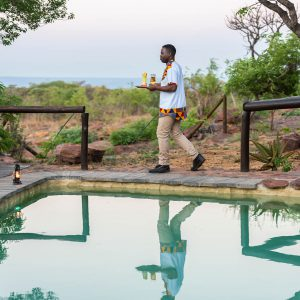 Jamila Lodge Poolside Service