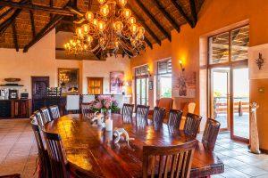 Jamila Lodge Dining Area