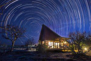 Jamila Lodge Star Trails