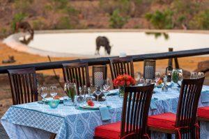 Jamila Lodge Poolside Dining