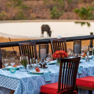 Jamila Lodge Poolside Dining