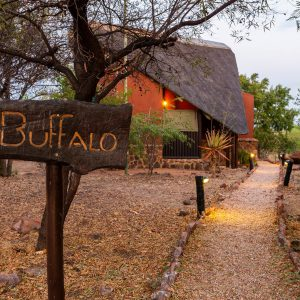 Jamila Lodge Buffalo Room pathway