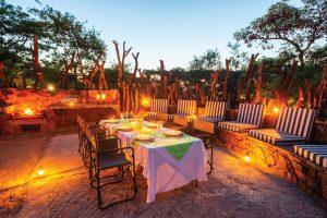 Jamila Lodge Boma Dinners