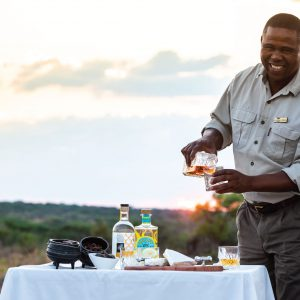 Jamila Lodge Sunset Game Drive Refreshments
