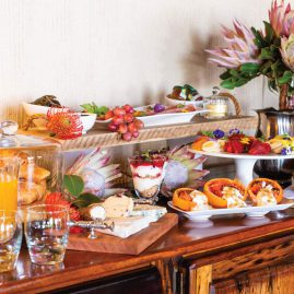 Jamila Lodge Full Breakfast Spread