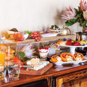 Jamila Lodge Full Breakfast Spread