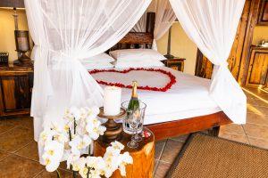 Jamila Lodge Romantic Turn down set up